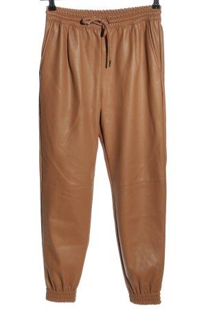 Zara Hoge taille broek brons zakelijke stijl