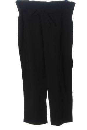Zara High-Waist Hose schwarz Casual-Look