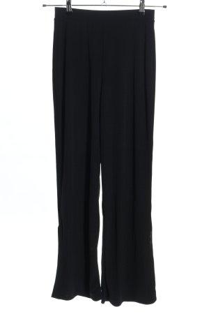 Zara Hoge taille broek zwart casual uitstraling