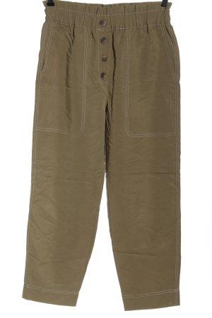 Zara Hoge taille broek bruin casual uitstraling