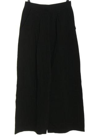 Zara High-Waist Hose schwarz Business-Look