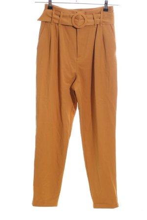 Zara High Waist Trousers light orange business style