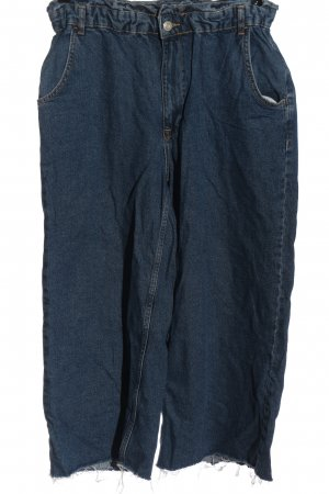 Zara High Waist Jeans blau Elegant