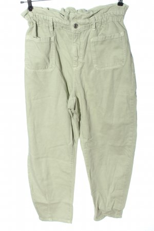 Zara High Waist Jeans grün Casual-Look