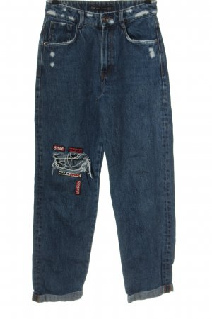 Zara High Waist Jeans blue casual look