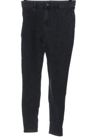 Zara Jeans a vita alta grigio chiaro stile casual