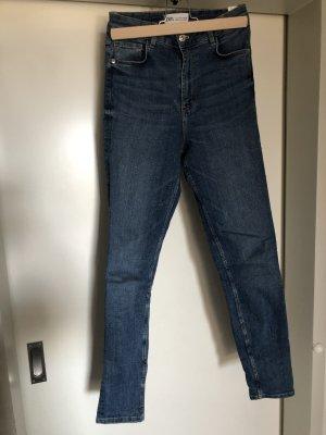 Zara High Waist Jeans 36