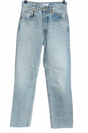 Zara High Waist Jeans blau Casual-Look