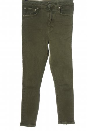 Zara High Waist Jeans khaki Casual-Look