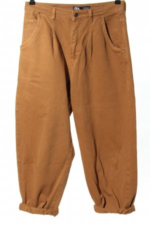 Zara High Waist Jeans braun Casual-Look