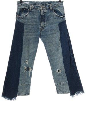 Zara High Waist Jeans blue extravagant style