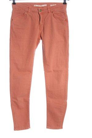 Zara High Waist Jeans hellorange Casual-Look
