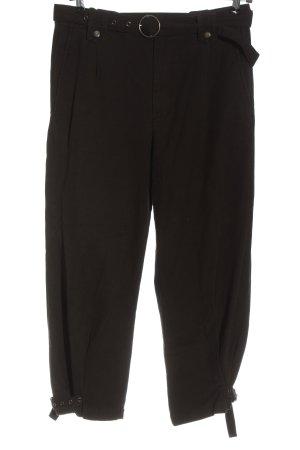 Zara Pantalon taille haute noir style décontracté