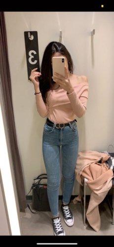 Zara High Waist Jeans Denim