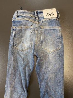 Zara High Waist Jeans Gr. 34