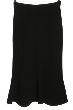 Zara High Waist Rock schwarz Casual-Look