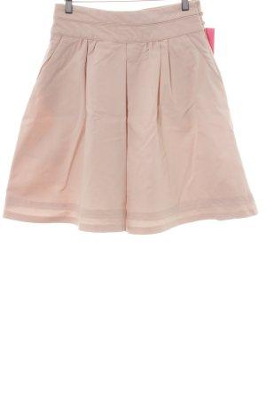 Zara High Waist Rock rosé Elegant