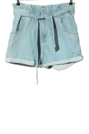 Zara Short taille haute bleu style décontracté