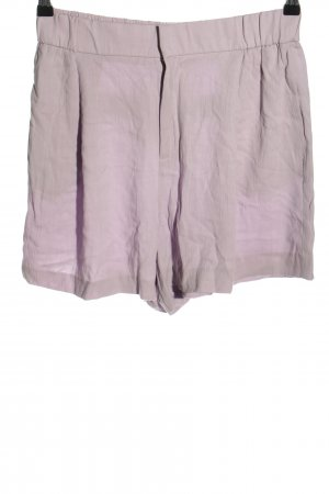 Zara High-Waist-Shorts lilac casual look