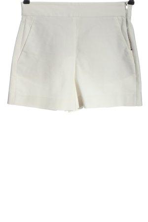 Zara Szorty z wysokim stanem biały W stylu casual