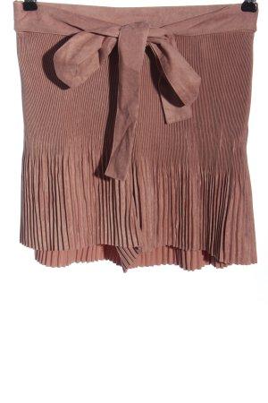 Zara High-Waist-Shorts pink Casual-Look