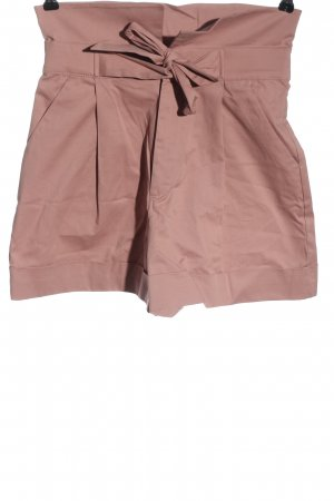 Zara Pantaloncino a vita alta rosa stile casual
