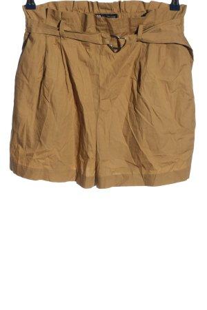 Zara High waist short licht Oranje casual uitstraling