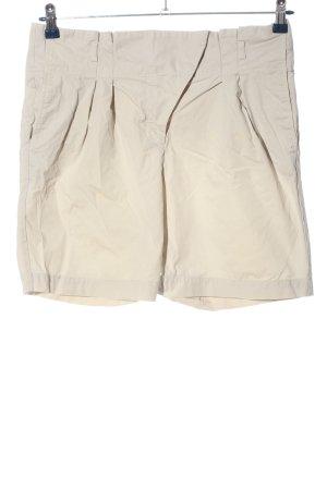 Zara High-Waist-Shorts wollweiß Casual-Look
