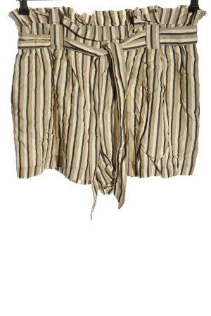 Zara Pantaloncino a vita alta motivo a righe stile casual