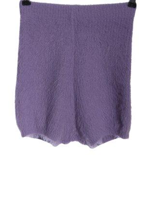Zara High-Waist-Shorts lila Casual-Look