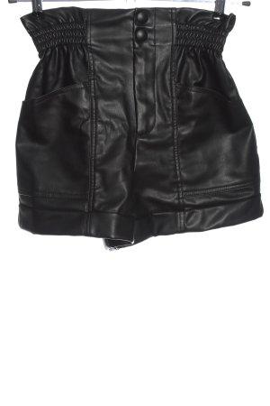 Zara Short taille haute noir style décontracté