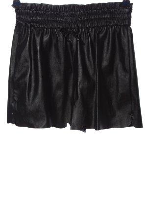 Zara High waist short zwart casual uitstraling