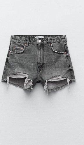 Zara High Waist Shorts, neu