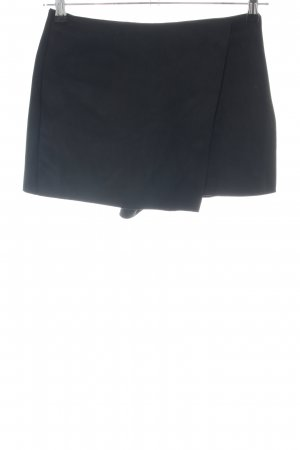 Zara High-Waist-Shorts schwarz Elegant