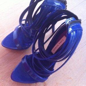Zara Highheels in blau