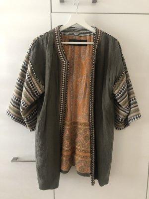 Zara Basic Oversized Jacket khaki