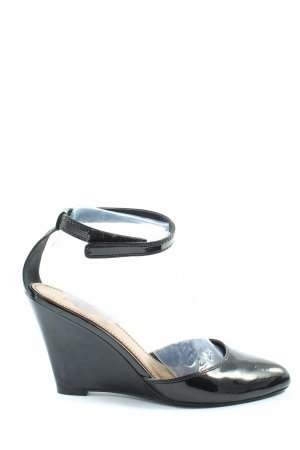 Zara Hochfront-Pumps schwarz Elegant