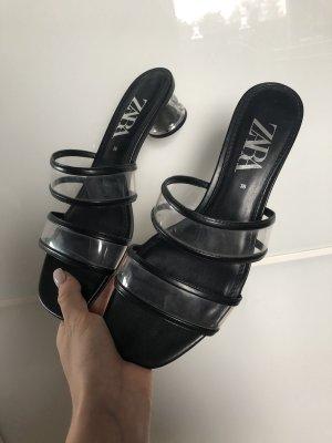 Zara hohe Sandalen gr 38
