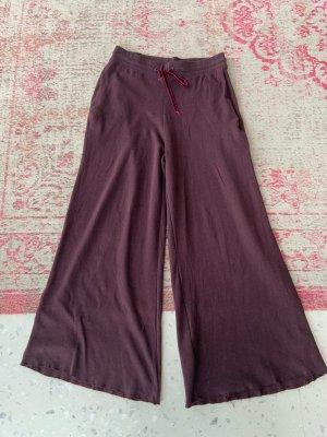 Zara Sweat Pants carmine-bordeaux cashmere