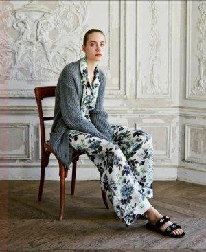 zara home loungewear Hemd satinhemd Pyjama