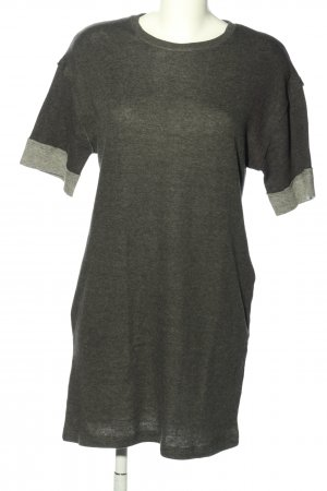 Zara Home Shirtkleid khaki-hellgrau meliert Casual-Look
