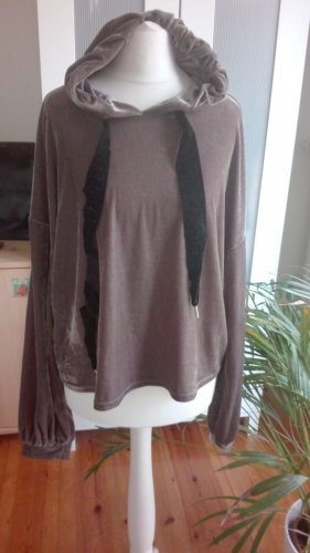 Zara Hoodie Sweater Samt