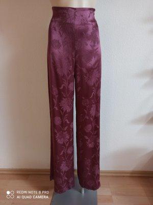 Zara Pantalon palazzo violet