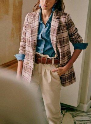 Zara Marlene Trousers natural white-cream