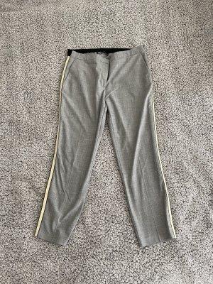 Zara Pantalon en jersey gris-gris clair