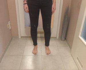 Zara Woman Pantalon taille haute noir