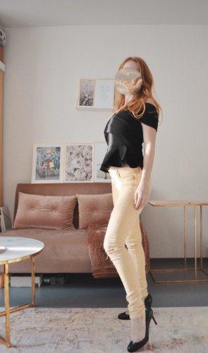 Zara Pantalón de tubo multicolor