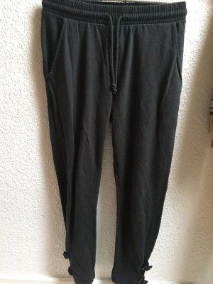 Zara pantalón de cintura baja gris-gris oscuro