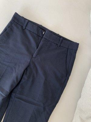 Zara Pantalon en jersey bleu foncé-bleu