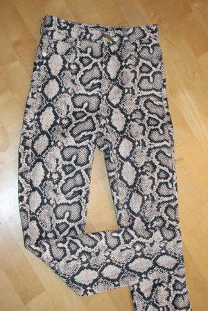Zara Hose Animal Print snake Gr. 34